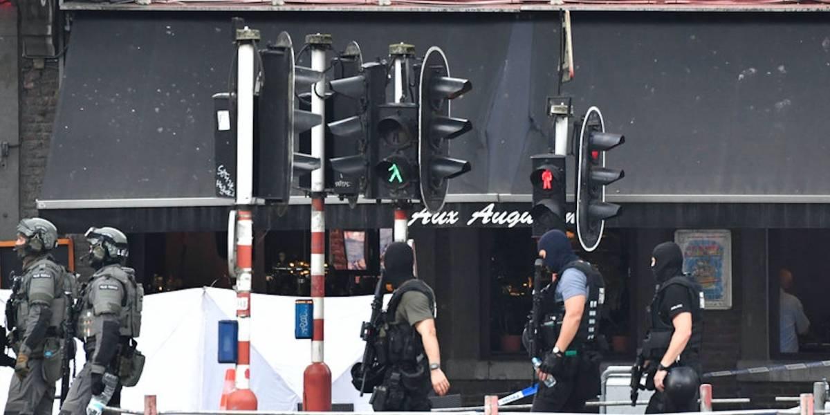 Hombre mata a dos policías y a un transeúnte en Bélgica