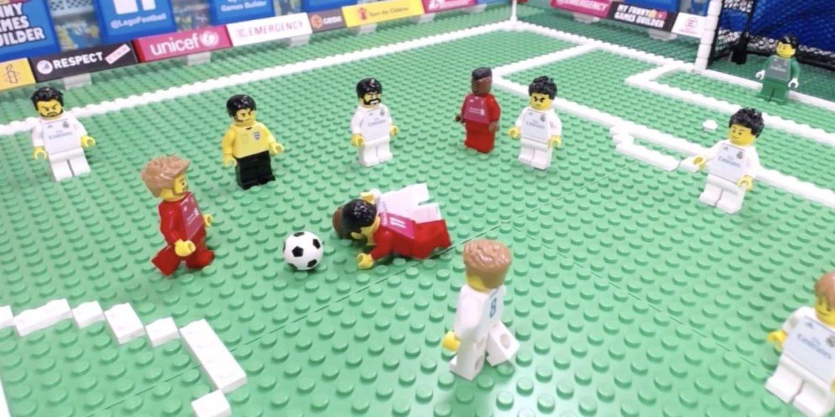VIDEO: Lego recrea la Final de la UEFA Champions League