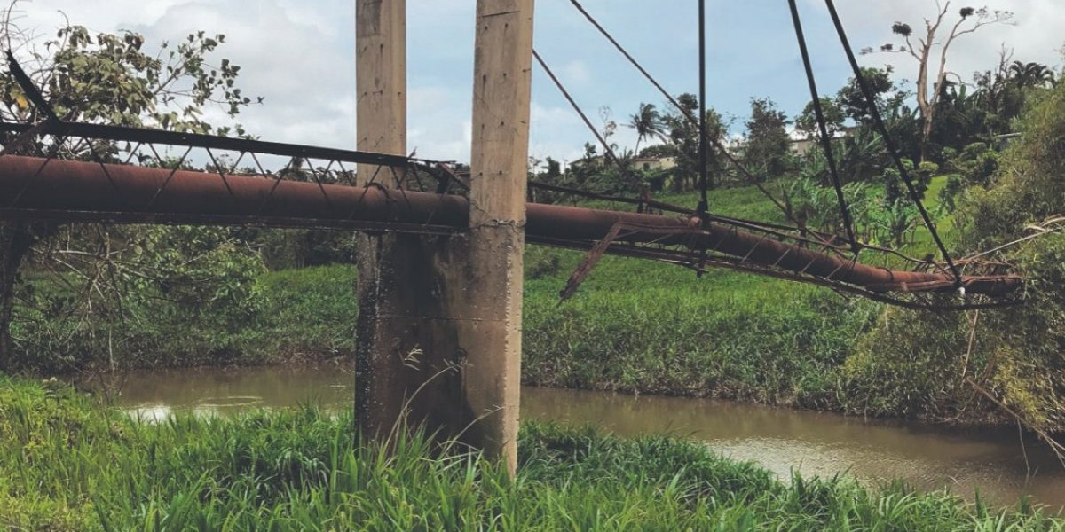 Daño en AAA por María pudo haber afectado la salud y el medioambiente