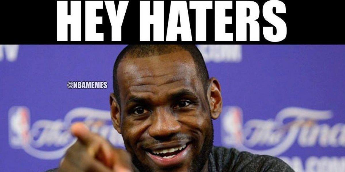 Los memes de LeBron James y su cuarto enfrentamiento ante Warriors en finales