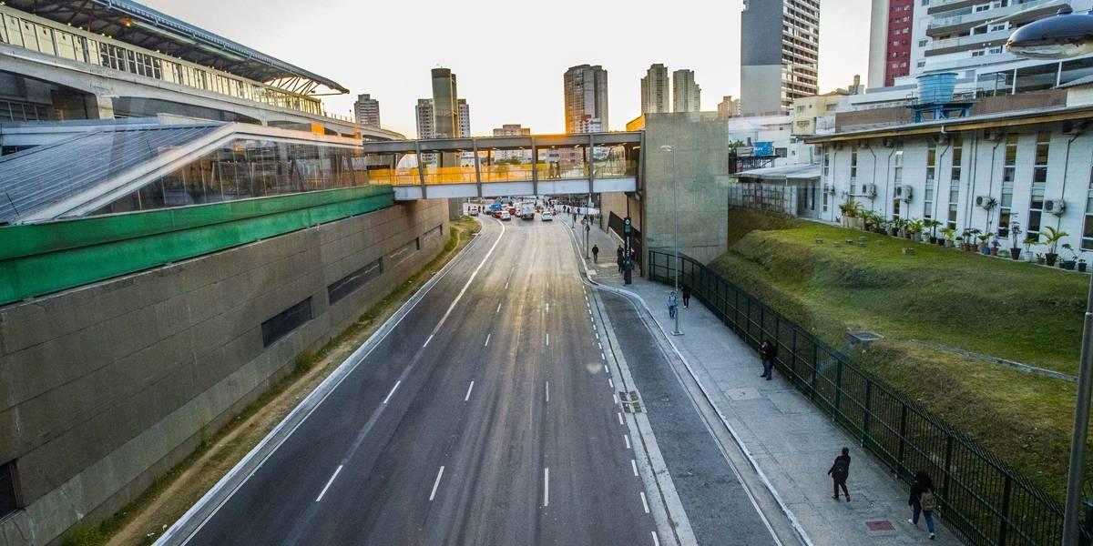 Índice de congestionamento é zero em São Paulo, diz CET