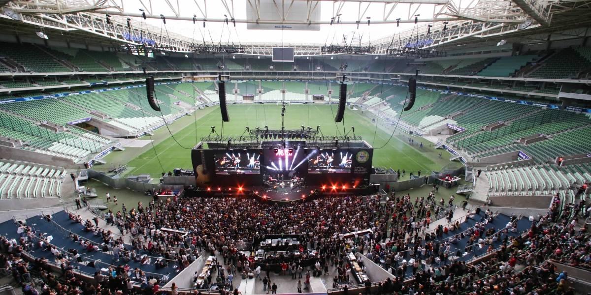 Allianz Parque inaugura espaço de espetáculos com show de Gilberto Gil e Ivete Sangalo