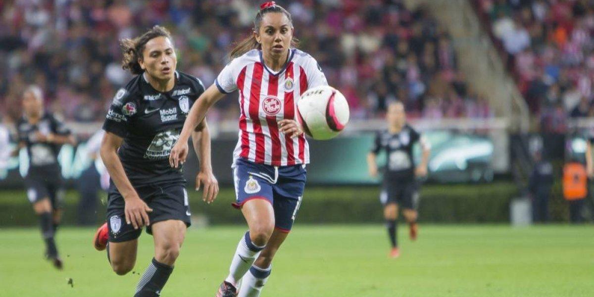 Andrea Sánchez asume su responsabilidad en Chivas