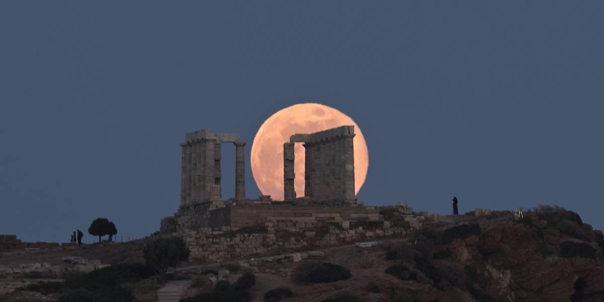 Fotos: La impresionante luna llena que sorprendió al mundo