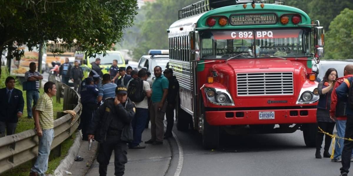 Guardaespaldas intentó contrarrestar ataque contra autobús en ruta a El Salvador