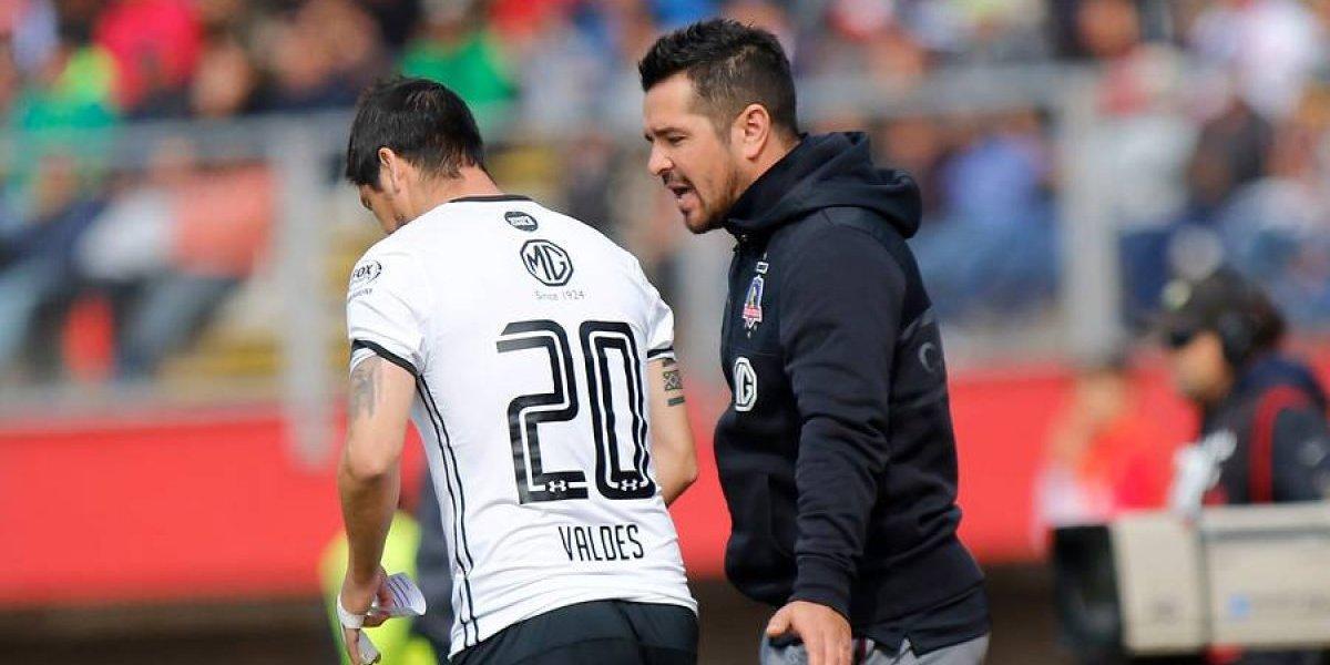 """Tapia no quiere que se vaya Valdés: """"Es un jugador desequilibrante, contamos con él"""""""