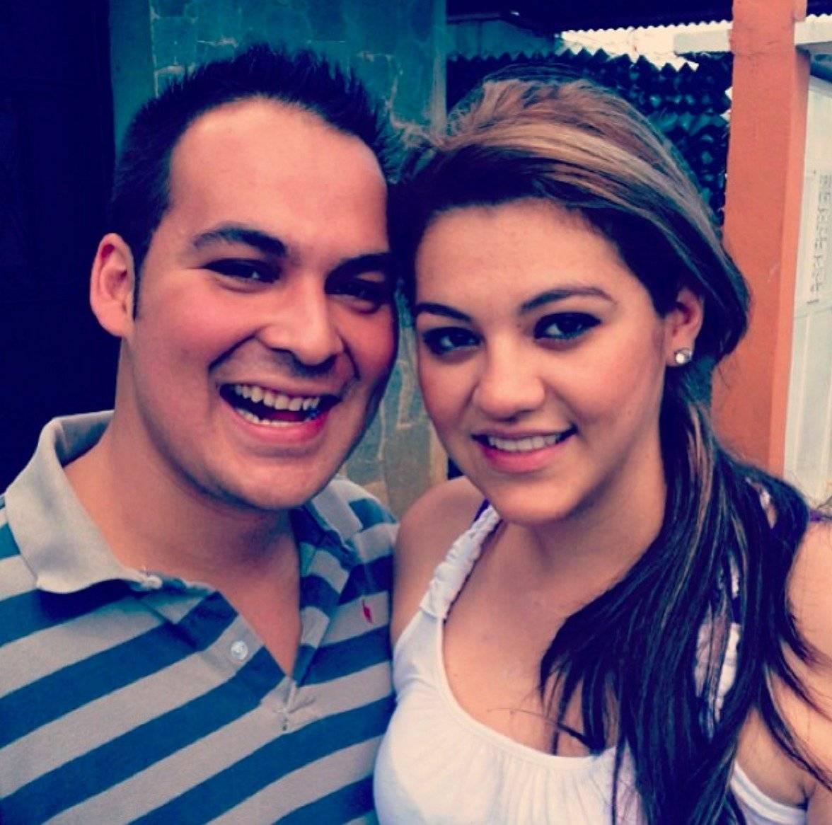 Mitzie Sánchez y su esposo Banny Zambrano. Foto: Cortesía