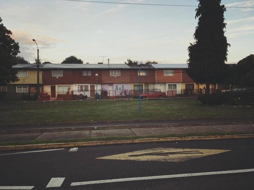 El barrio donde creció en Osorno