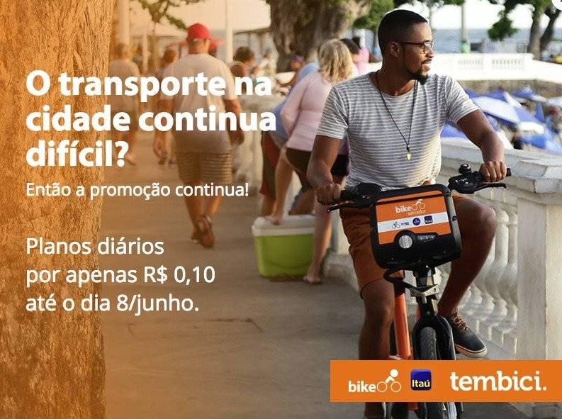 Promoção Bike Sampa