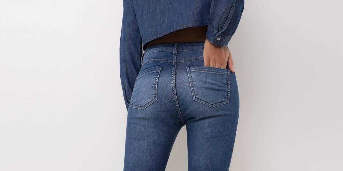 Rede de fast fashion lança linha de jeans feitos de fios reciclados