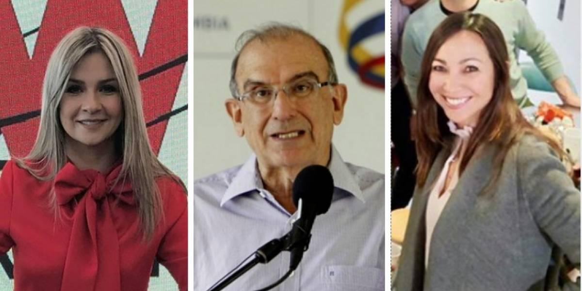 Las críticas de Darcy Quinn y Vicky Dávila a la 'vaca' para pagar deuda de De la Calle