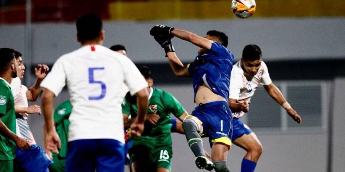 Nicolás Guerra selló el sufrido empate de Chile ante Bolivia en Cocha 2018