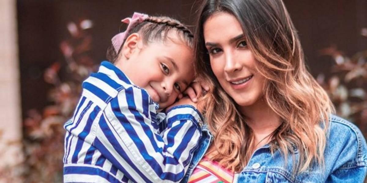 Foto de Salomé, hija de James y Daniela, es tendencia en redes