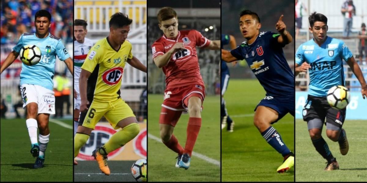 La Calera y la U se llevan la corona: El Top 10 de los futbolistas Sub 20 que más minutos sumaron en la primera rueda del torneo