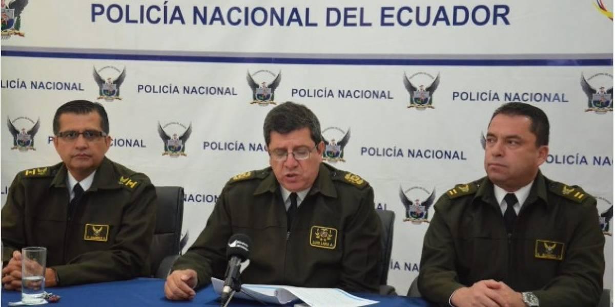 Quito: Operativos 204 y 2016 desmantelaron dos organizaciones dedicadas al robo de vehículos y domicilios