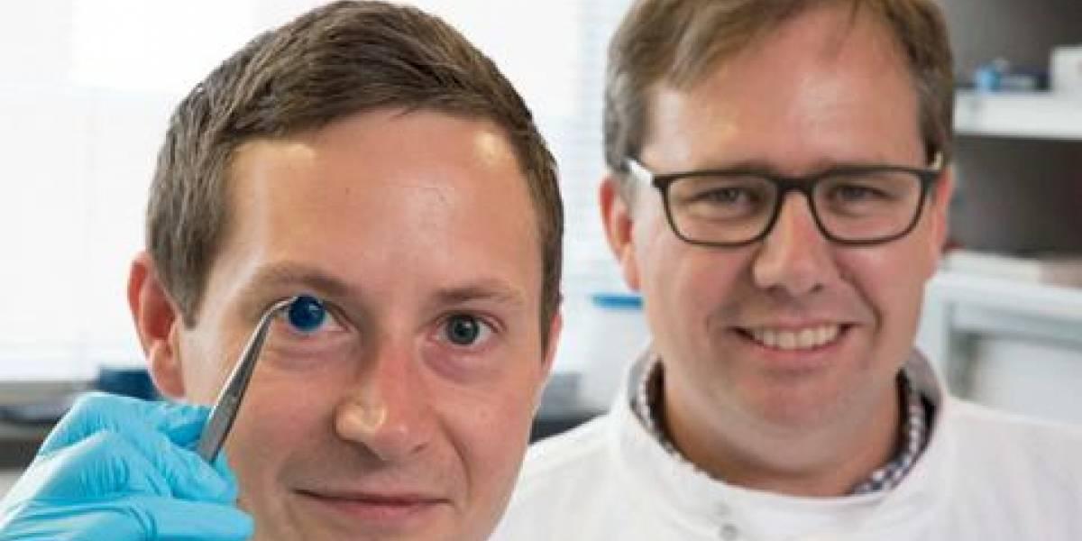 Cientistas britânicos criam 'córnea 3D'