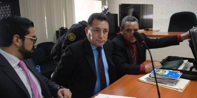 audiencia de primera declaración del coronel Salvador de León