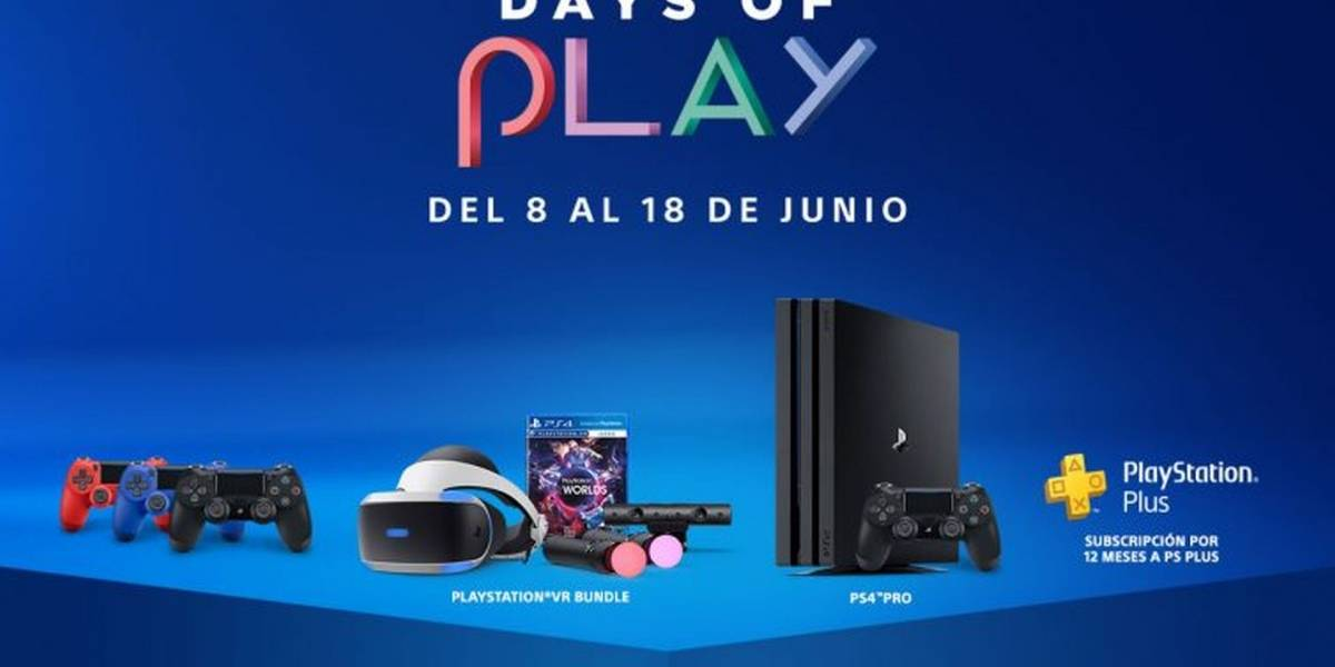 PlayStation 4: La promoción Days of Play llega a Latinoamérica