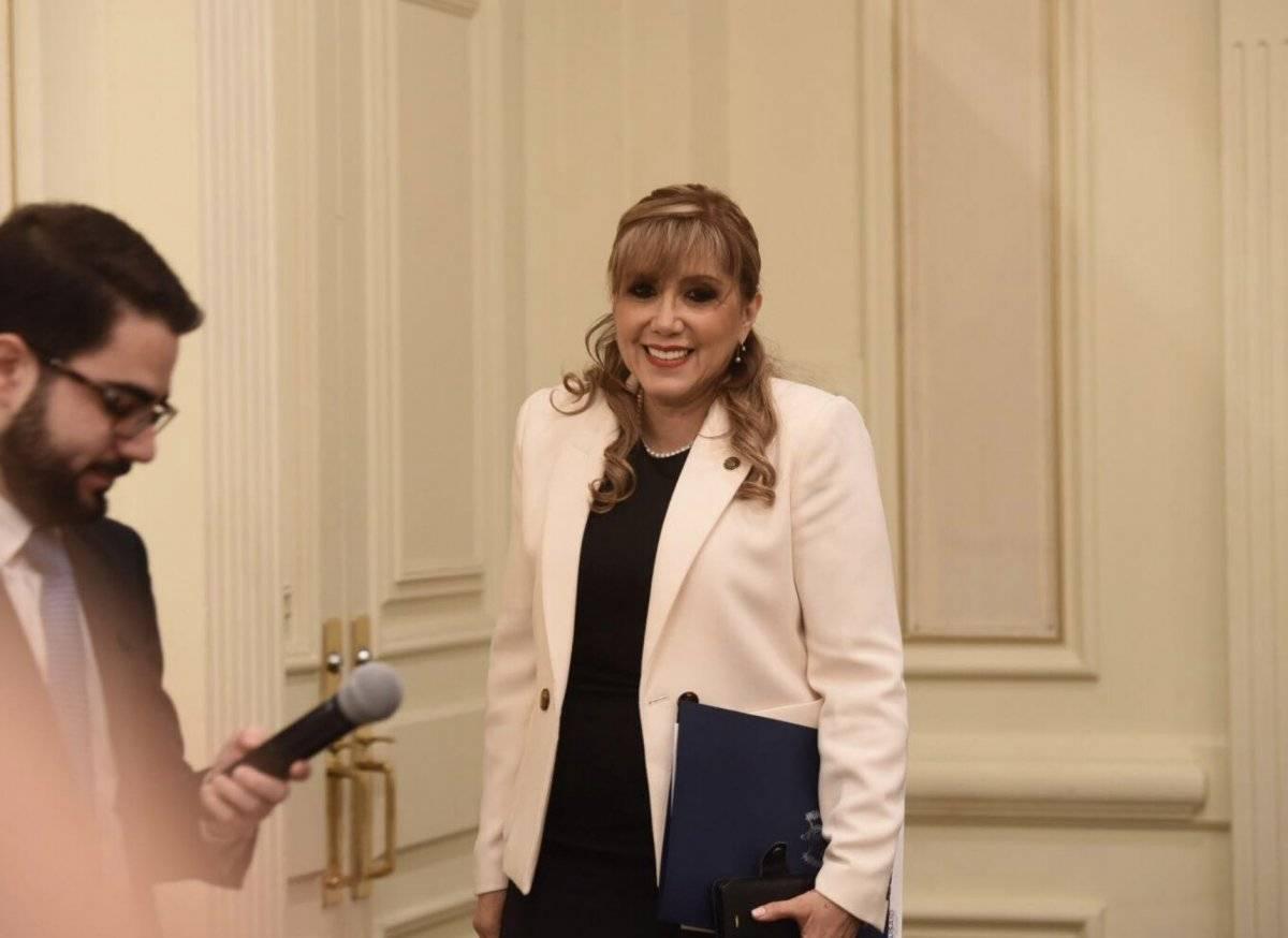 Dina Ochoa, presidenta de la CC