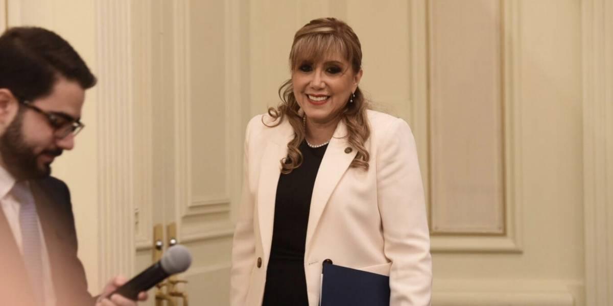 Presidenta de la CC da a conocer propuesta para mejorar celeridad en tema de amparos