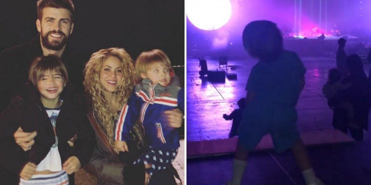 Filho de Shakira imitando sua coreografia é o melhor vídeo que você verá hoje
