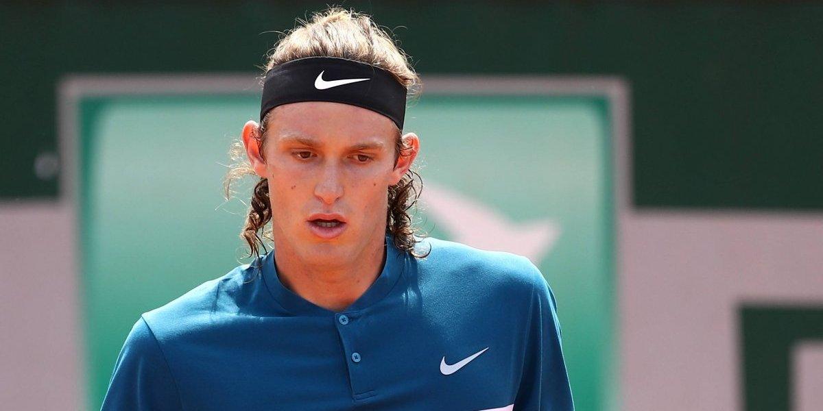 Nicolás Jarry se sacó la rabia y tuvo su premio de consuelo en Roland Garros