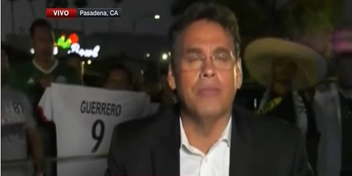 VIDEO: Aficionados insultan a David Faitelson en programa en vivo