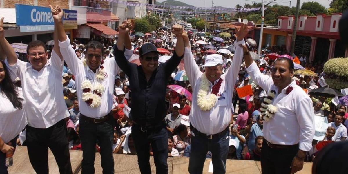 Julión Álvarez ameniza campaña de Morena en Chiapas