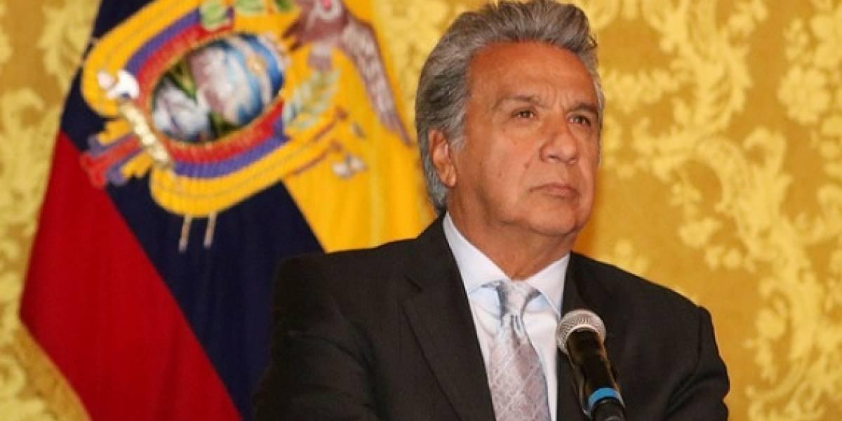 """Lenín Moreno: """"La decisión de dar la nacionalidad ecuatoriana a Julian Assange no fue mía, fue de mi canciller"""""""