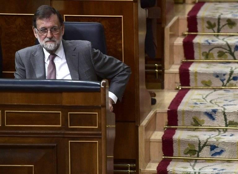 Mariano Rajoy en el Parlamento