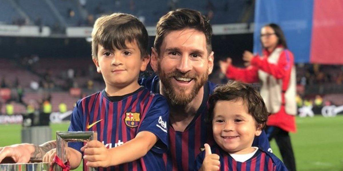 Messi comparte tierna canción de sus hijos en apoyo a Argentina