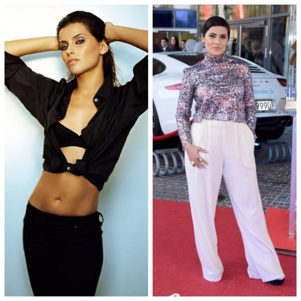 Nelly Furtado antes y ahora