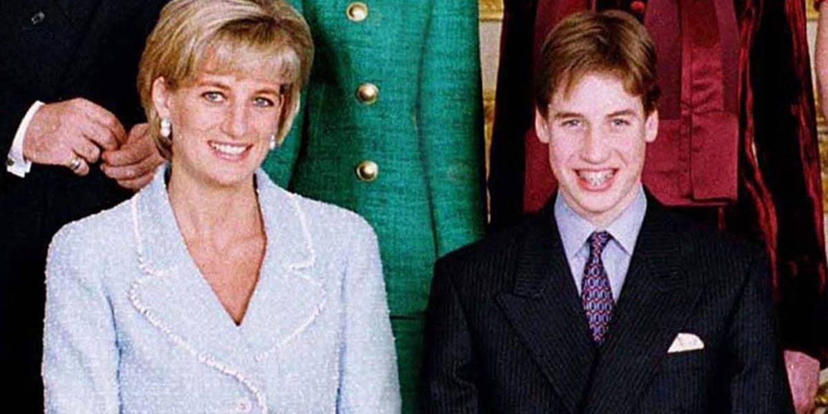 A promessa angustiante que William fez para sua mãe, Lady Di, antes dela morrer
