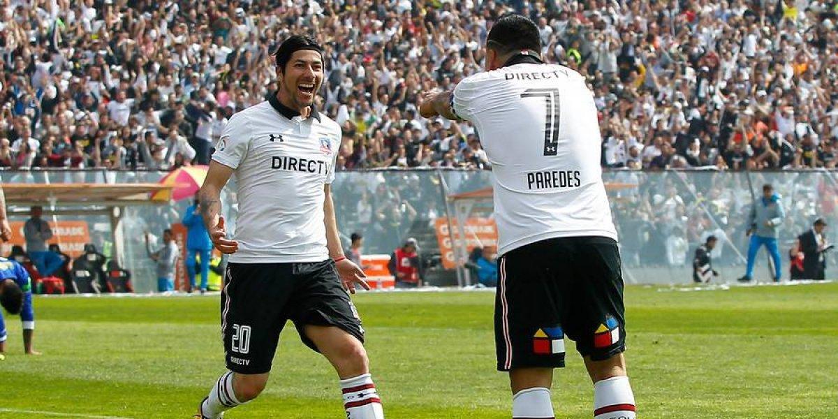 """Paredes también quiere a Pajarito Valdés: """"Lo reencantaremos, tiene mucho que darle a Colo Colo"""""""