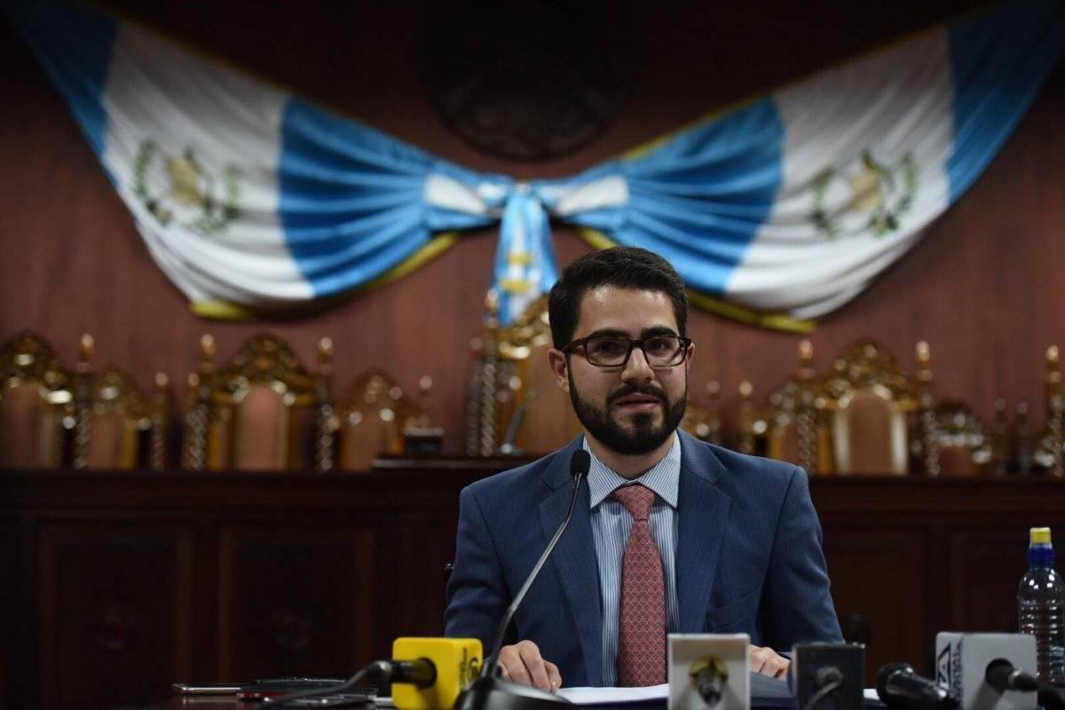 Santiago Palomo, vocero de la CC