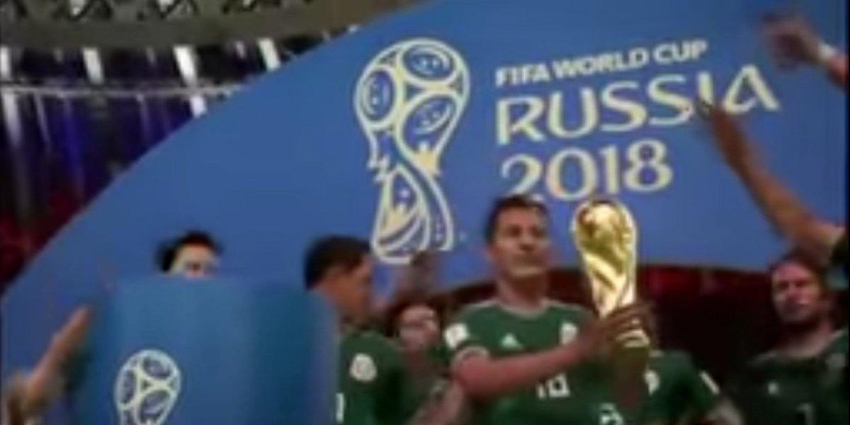 VIDEO: La emotiva narración de México campeón del mundo en FIFA 18