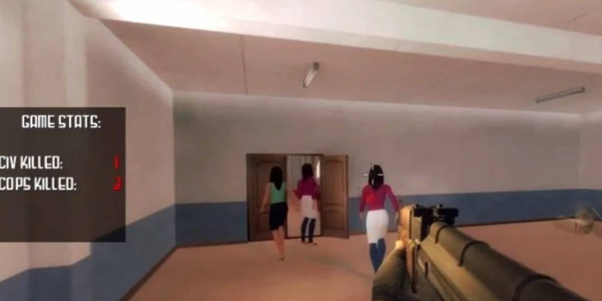 EEUU: Retiran videojuego que recrea tiroteos escolares