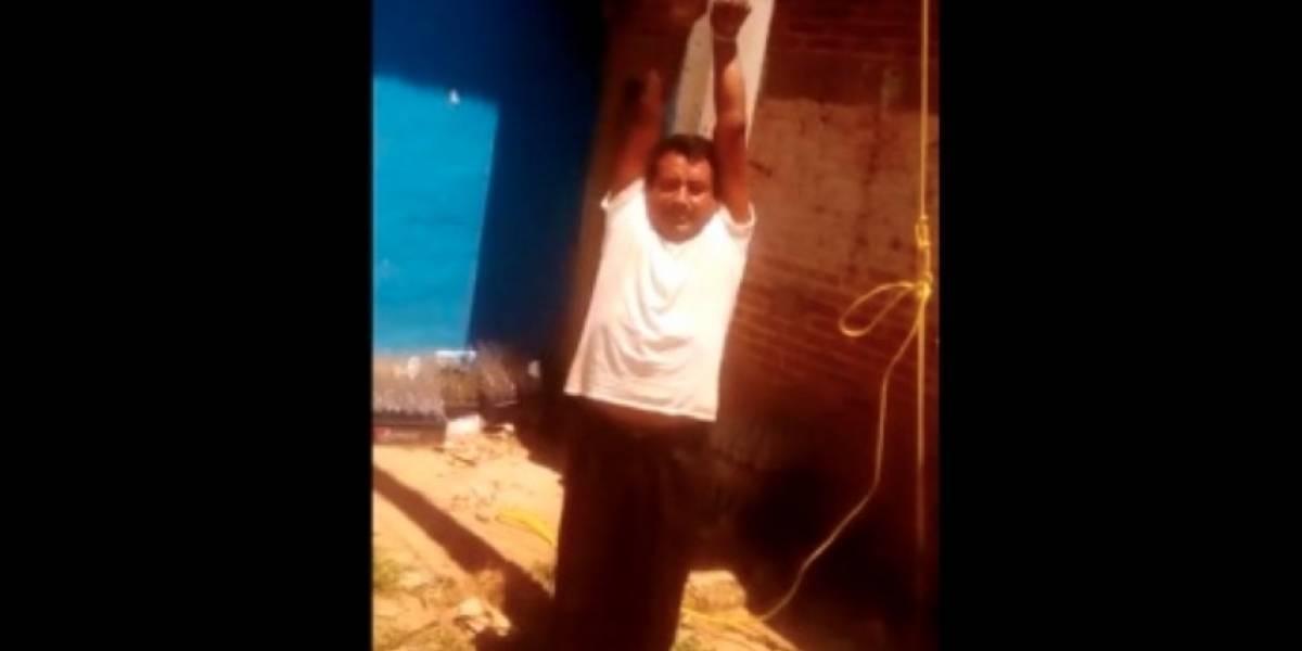Acuerdan liberación de Ramiro González Patishtán tras 17 días retenido