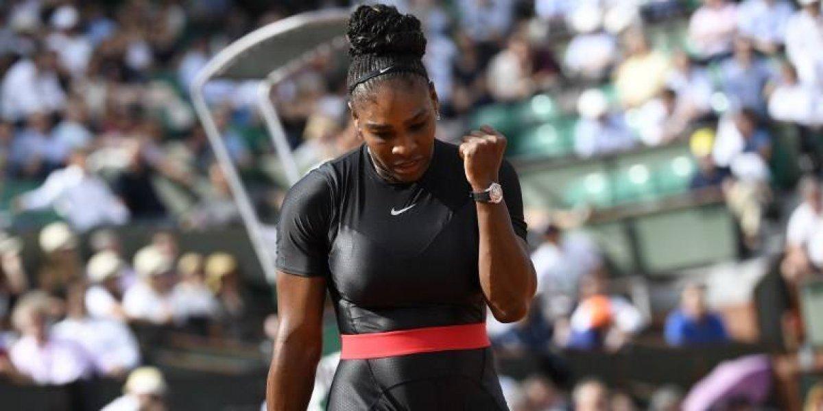 Serena Williams sufre más de la cuenta para ganar en el Roland Garros