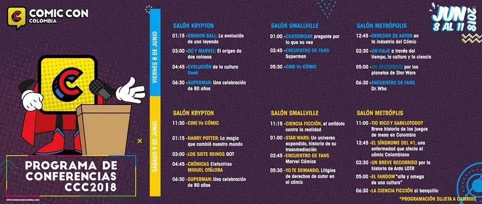 ¡Disfruta de la primera edición de la Comic Con en Bogotá!