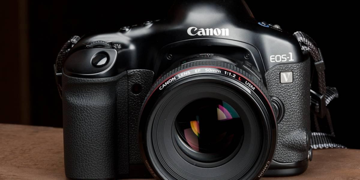Canon se despide de las cámaras de carrete