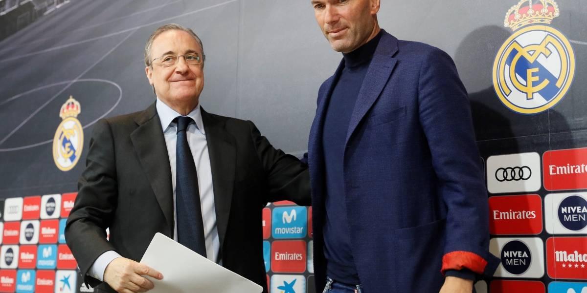 Zinedine Zidane renuncia al Real Madrid después de 3 años brillantes