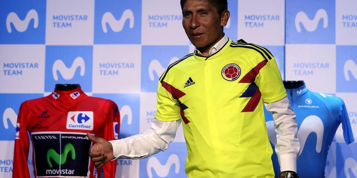Rueda de prensa de Nairo Quintana previo al Tour de Francia