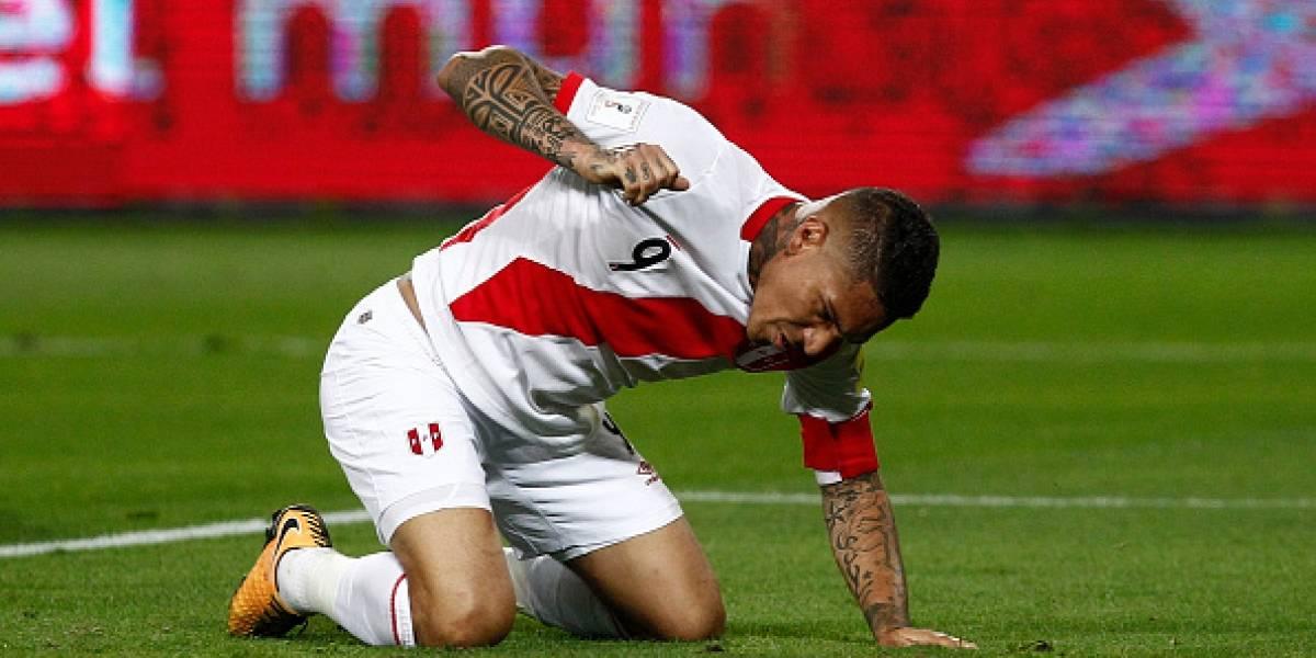 Suprema Corte de Suiza revocó perdón a Paolo Guerrero y no jugará hasta 2019