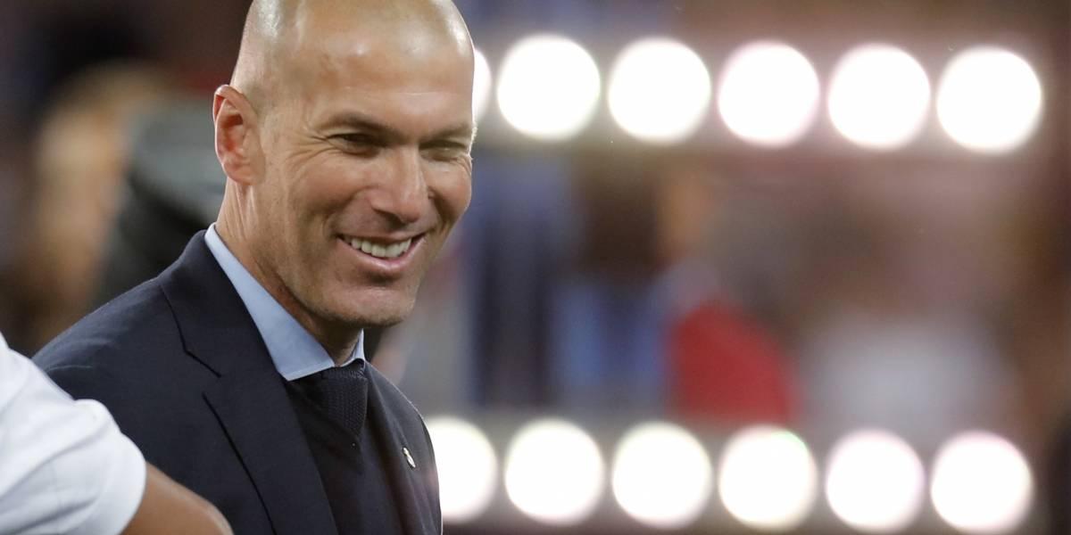 Zinedine Zidane renuncia como DT del Real Madrid