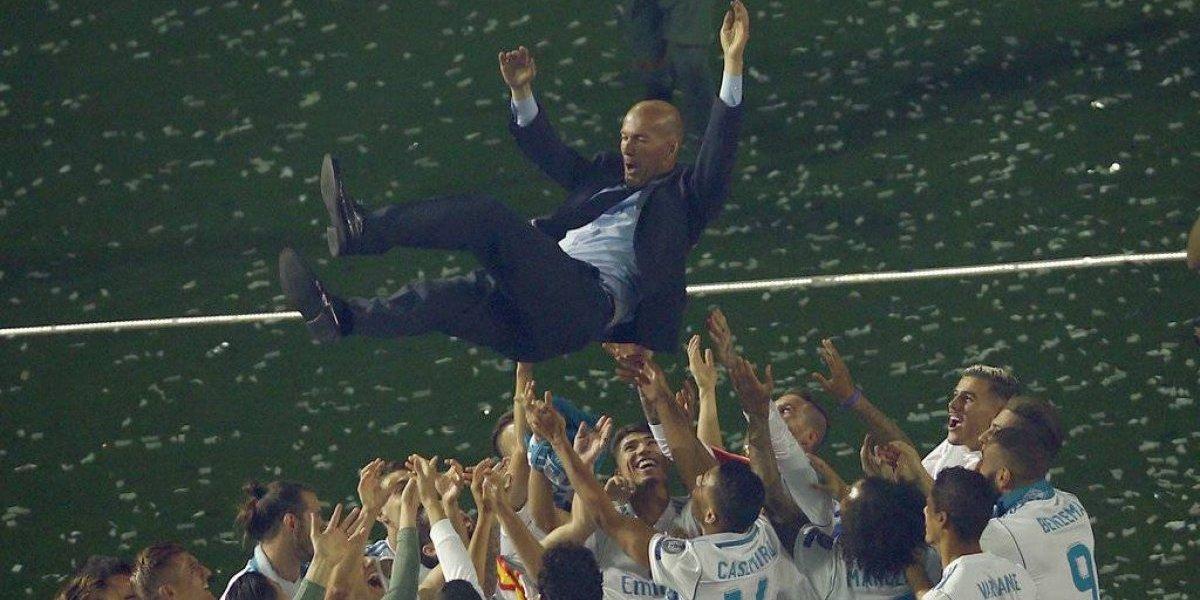 Zinedine Zidane renuncia como entrenador del Real Madrid
