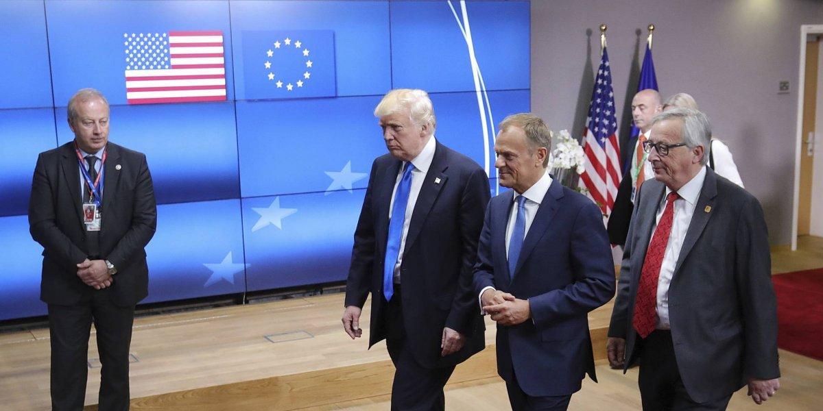 Unión Europea contraataca a EU con aranceles y denuncia ante la OMC