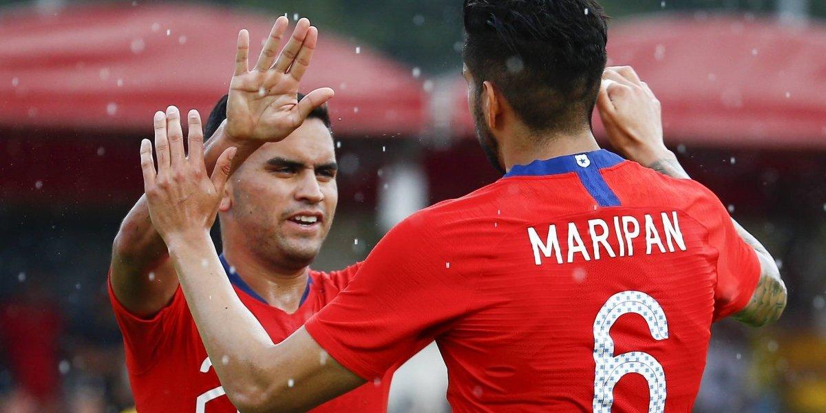 Sebastián Vegas y Gonzalo Collao aprobaron con lo justo su primer examen con la Roja adulta