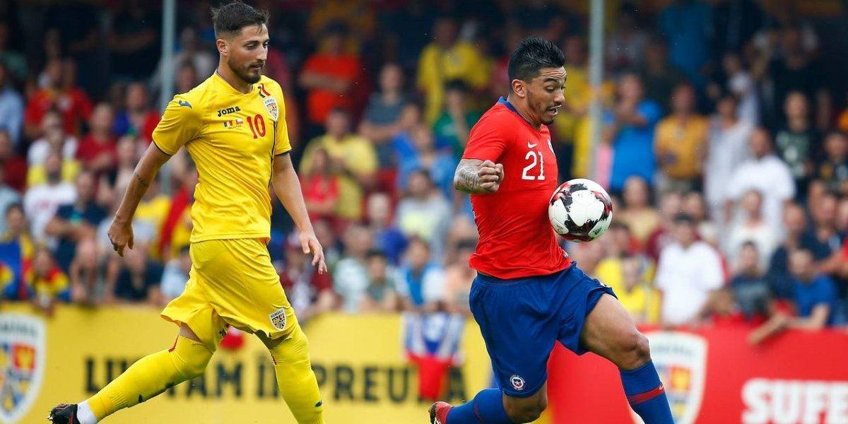 """Chile sufrió su primer golpe en la era Rueda y cayó en un """"extraño"""" partido ante Rumania"""