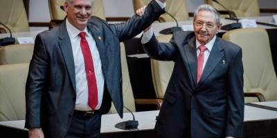 Maduro recibe a Díaz-Canel en su primera visita oficial a Venezuela